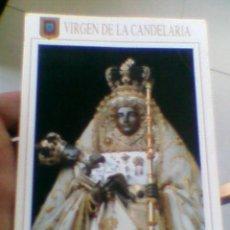 Postales: POSTAL FOTOGRAFICA S/C VIRGEN NTRA SRA CANDELARIA TENERIFE ED ESCUDO ORO Nº 410(B31). Lote 37824470
