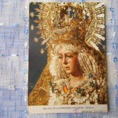 Postales: VIRGEN ESPERANZA MACARENA, SEMANA SANTA SEVILLA, COLECCION TRIANA, . Lote 37956661