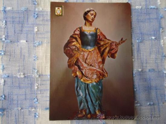 POSTAL N 55 ESCUDO DE ORO, MURCIA, MUSEO DE SALZILLO, VIRGEN, LA VERONICA (Postales - Postales Temáticas - Religiosas y Recordatorios)
