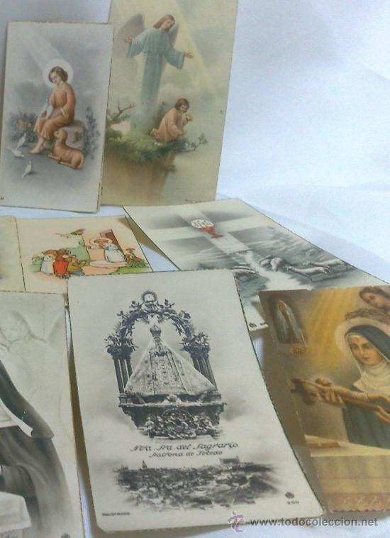 Postales: 1ª 1/2 XX-S. COLECCIÓN DE PEQUEÑAS POSTALES Y RECORDATORIOS. - Foto 4 - 37959519