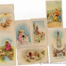 Postales: MINI ESTAMPAS DE COMUNION. Lote 38021747