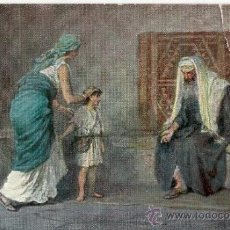 Postales: POSTAL HISTORIA SAGRADA - SAMUEL - SERIE IV IMAGEN 2 - LEINWEBER. Lote 118837275