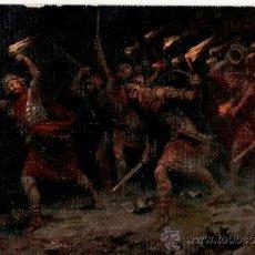 Postales: POSTAL HISTORIA SAGRADA - GEDEON - SERIE III IMAGEN 7 - LEINWEBER. Lote 118837552
