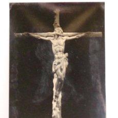 Postales: POSTAL RELIGIOSA / SEMANA SANTA. AÑO 1958. CRISTO ALTAR MAYOR, VALLE DE LOS CAIDOS MADRID 1612. . Lote 38070346
