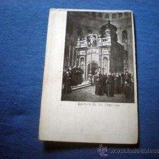 Postales: POSTAL RELIGIOSA EDICULE DU ST SEPULCRE NO CIRCULADA. Lote 38172889