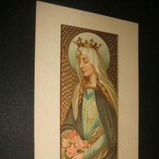Postales: SANTA ISABEL ANTIGUA POSTAL 1910 CON RELIEVES DORADOS. Lote 38312937