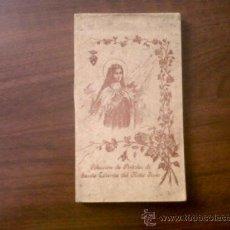Postales: BLOC DE 18 POSTALES-COLECCIÓN DE POSTALES SANTA TERESITA DEL NIÑO JESÚS. Lote 38862458