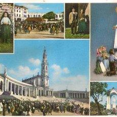 Postales: -50529 POSTAL RELIGIOSA VIRGEN DE FATIMA Y FATIMA, PORTUGAL. Lote 38870275
