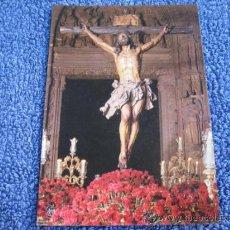 Postales: POSTAL RELIGIOSA: ESCUDO DE ORO. DOMINGUEZ. FISA. SANTISIMO CRISTO EXPIRACION DE SEVILLA (CACHORRO). Lote 39008981