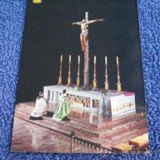 Postales: POSTAL RELIGIOSA: FISA. ESCUDO DE ORO.- 27.SANTA CRUZ DEL VALLE DE LOS CAIDOS. DETALLE ALTAR MAYOR. Lote 39020518