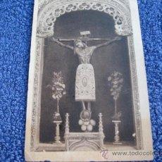 Postales: POSTAL RELIGIOSA: HAUSER Y MENET.- BURGOS (CATEDRAL). SANTO CRISTO DE BURGOS. FATIGADA. Lote 39029778