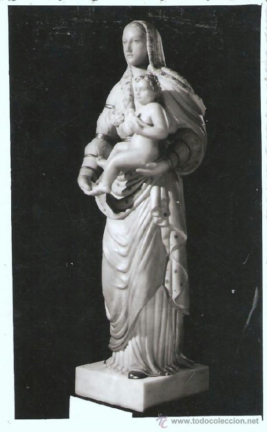 FOTOGRAFIA POSTAL , RELIGIOSA , SIN NOMBRE DE VIRGEN 2 (Postales - Postales Temáticas - Religiosas y Recordatorios)