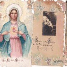 Postales: LOTE DE 4 ANTIQUÍSIMAS ESTAMPAS RELIGIOSAS - AÑOS 1925 - 1926 - EXCELENTE CONSERVACIÓN. Lote 39252967