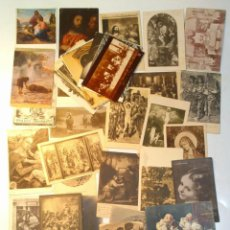 Postales: LOTE 48 TARJETA POSTAL RELIGIOSA EXTRANJERAS.CASI TODAS SIN CIRCULAR. .. Lote 39583391