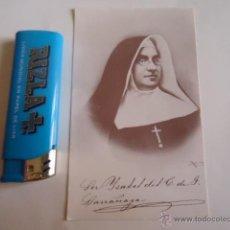 Postales: ANTIGUA POSTAL RELIGIOSA - SEMANA SANTA - MADRE ISABEL LARRAÑAGA. Lote 39674847