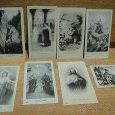 Postales: 8 ESTAMPAS RELIGIOSAS. Lote 39842116