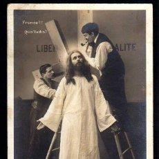 Postales: POSTAL RELIGIOSA. CIRCULADA 1906.. Lote 39952660