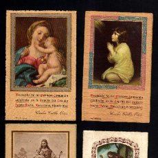 Postales: LOTE DE ESTAMPAS RELIGIOSAS, RECORDATORIOS, ETC.. Lote 39963982