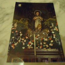 Postales: ANTIGUA POSTAL RELIGIOSA VIRGEN NIÑA , N 51 ESCUDO DE ORO AMPUERO SANTANDER. Lote 39976699