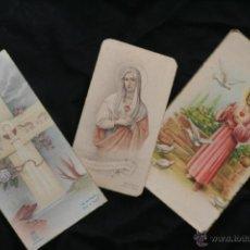 Postales: LOTE ANTIGUOS DE RECORDATORIOS PRIMERA COMUNION. Lote 39978978