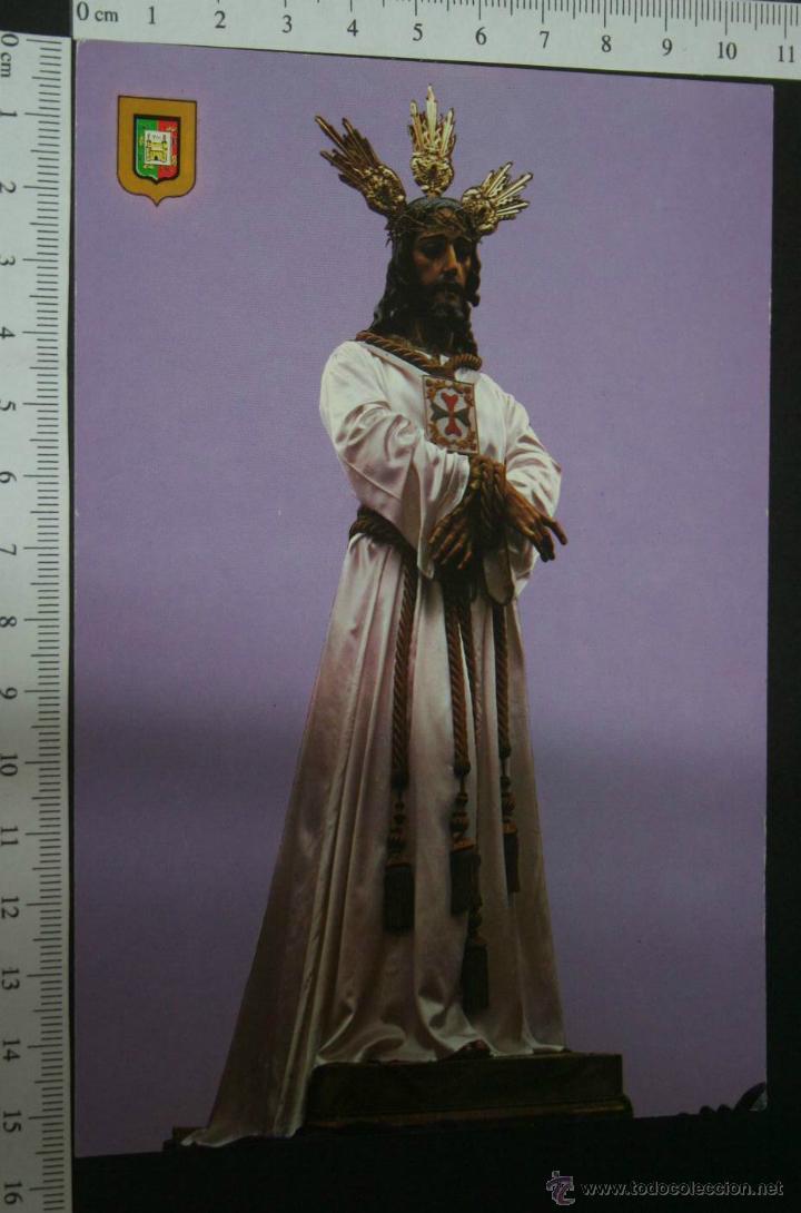 POSTAL DE JESUS CAUTIVO. SEMANA SANTA DE MALAGA , , SIN CIRCULAR , ESCUDO DE ORO (Postales - Postales Temáticas - Religiosas y Recordatorios)