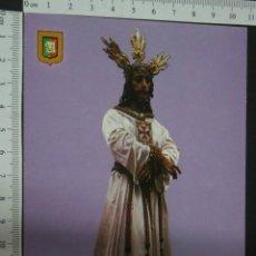 Postales: POSTAL DE JESUS CAUTIVO. SEMANA SANTA DE MALAGA , , SIN CIRCULAR , ESCUDO DE ORO. Lote 40152698