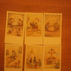 Postales: 6 ESTAMPAS DIFERENTES. Lote 40390026