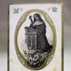 Postales: ESTAMPA RELIGIOSA, 1900S, SANTA RITA DE CASIA, Nº 81. Lote 40589808