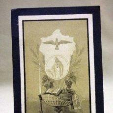 Postales: ESTAMPA DE DEFUNCION, LUTO, RECORDATORIO, VALENCIA, 1897. Lote 40590239