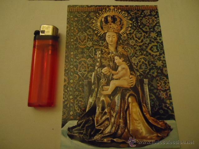 POSTAL VIRGEN PATRONA DE BURGOS SANTA MARIA LA MAYOR N 64 BURGOS (Postales - Postales Temáticas - Religiosas y Recordatorios)