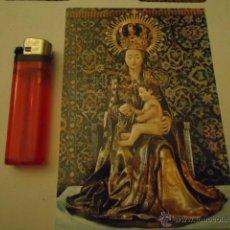 Postales: POSTAL VIRGEN PATRONA DE BURGOS SANTA MARIA LA MAYOR N 64 BURGOS. Lote 40664222