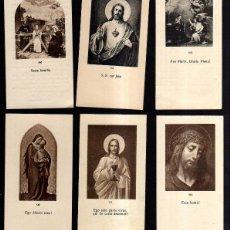 Postales: LOTE DE ESTAMPAS RELIGIOSAS, RECORDATORIOS, ETC.. Lote 40755079