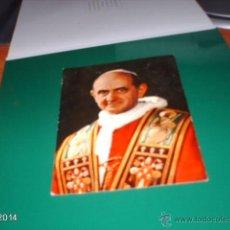 Postales: RARA POSTAL DEL PAPA PABLO VI. AÑOS 60. Lote 40976745