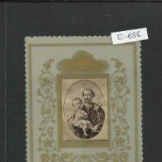 Postales: ESTAMPA BAQUELITA SAN JOSE - (E-638). Lote 41027194