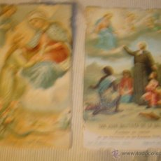 Postales: ANTIGUOS RECORDATORIOS RELIGIOSOS MODERNISTAS DE P.P.SXX. Lote 41162873