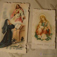 Postales: ANTIGUOS RECORDATORIOS RELIGIOSOS MODERNISTAS DE P.P.SXX. Lote 41163223