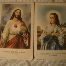 Postales: ANTIGUOS RECORDATORIOS RELIGIOSOS MODERNISTAS DE P.P.SXX. Lote 41164215