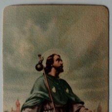 Postales: BONITA ESTAMPA RELIGIOSA ANTIGUA DE SANCTUS ROCHUS . Lote 41275298