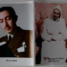 Postales: DÍPTICO RELIGIOSO DEL HERMANO RAFAEL ARNAIZ Y BARÓN, MONJE CISTERCIENSE, BURGOS . Lote 41296921