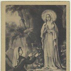 Postales: POSTAL RELIGIOSA. NTRA. SRA. DE LOURDES P-REL-162. Lote 41316306