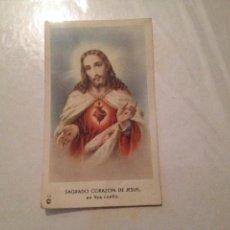 Postales: SAGRADO CORAZÓN DE JESUS Nº 102. Lote 41322983