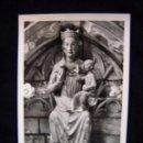 Postales: POSTAL SIN CIRCULAR VIRGEN ROMÁNICA IGL SANTA MARÍA CASTRO-URDIALES ED MANIPEL Nº 142205. Lote 41325264