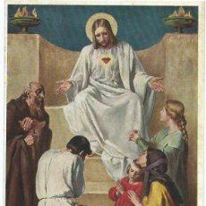 Postales: CROMOLITOGRAFIA RELIGIOSA , PRINCIPIOS DEL SIGLO XX. Lote 41335373