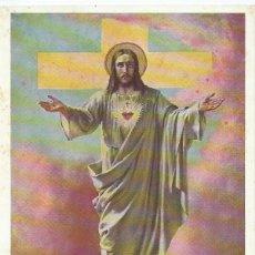 Postales: CROMOLITOGRAFIA RELIGIOSA , PRINCIPIOS DEL SIGLO XX. Lote 41335405