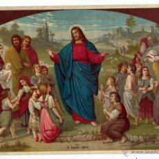 Postales: CROMOLITOGRAFIA RELIGIOSA , PRINCIPIOS DEL SIGLO XX. Lote 41335455