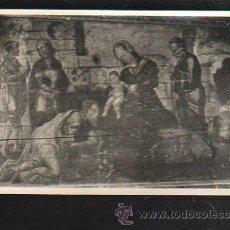 Postales: TARJETA POSTAL RELIGIOSA - REYES MAGOS CON NIÑO JESUS. FOTO V.F. MARIN SOLANO. Lote 41415223