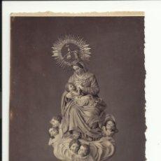 Postales: VIRGEN DE LA LECHE. J. RODRIGUEZ. FOTOGRAFO. FUENCARRAL 12 MADRID. 15 X 10CM.. Lote 41502545