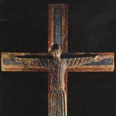 Postales: CRISTO EN LA CRUZ, SIGLO XII, BARCELONA. Lote 194666690