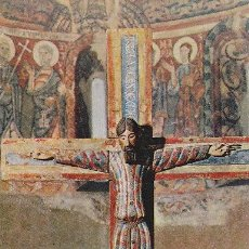 Postales: CRISTO EN LA CRUZ, SIGLO XII, BARCELONA. Lote 194666735