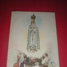 Postales: POSTAL RELIGIOSA. NTRA. SRA. DE FÁTIMA. . Lote 41589902